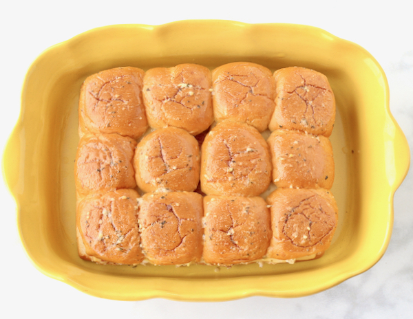 Roast Beef Sliders Hawaiian Rolls