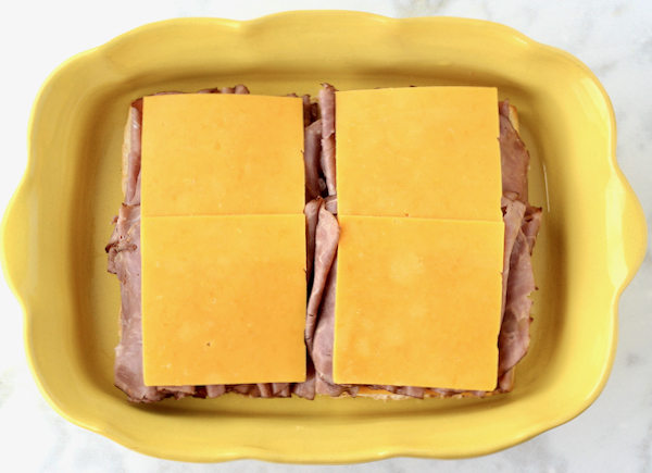 Roast Beef and Cheese Sliders Recipe