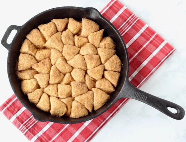 Skillet Monkey Bread Recipe