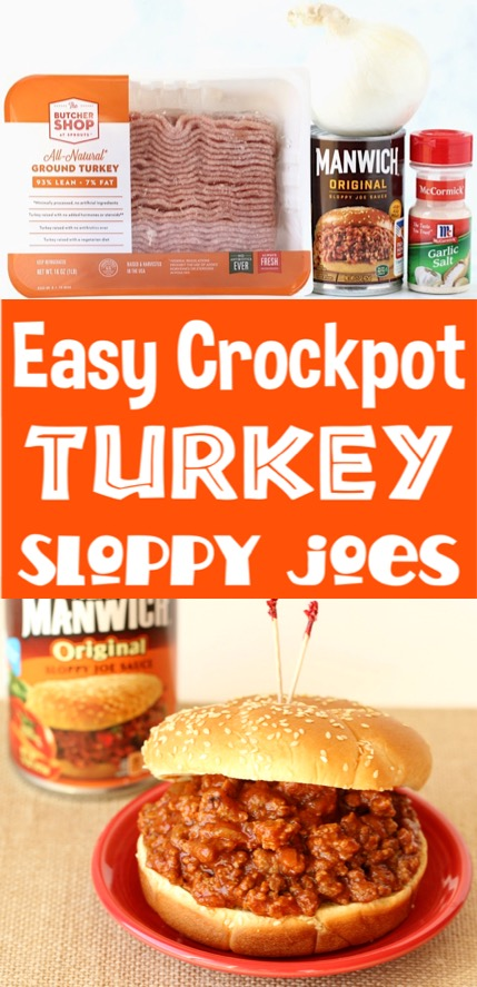 Crockpot Meals Easy Sloppy Joes for the Family