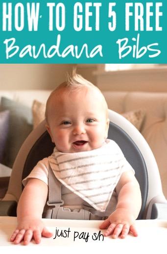 Bandana Bib for Boy or Girl