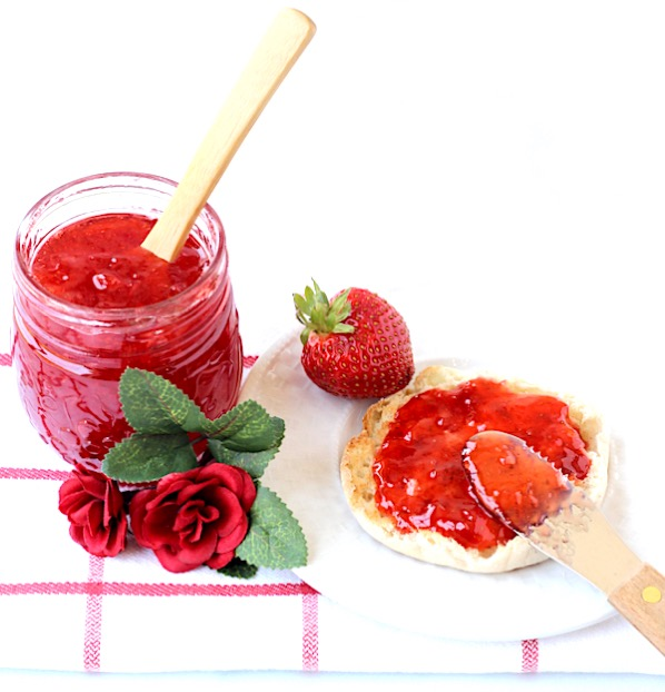 Homemade Strawberry Jam Recipe Easy