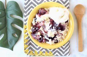 Berry Cheesecake Cobbler Recipe Easy