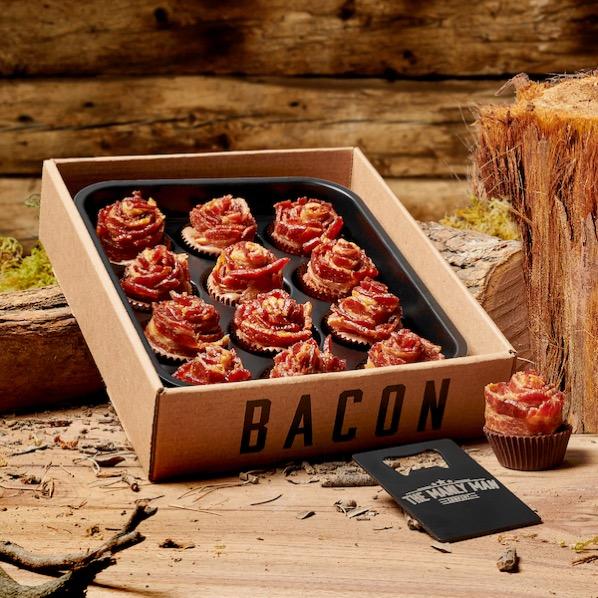 Bacon Roses Gift for Men