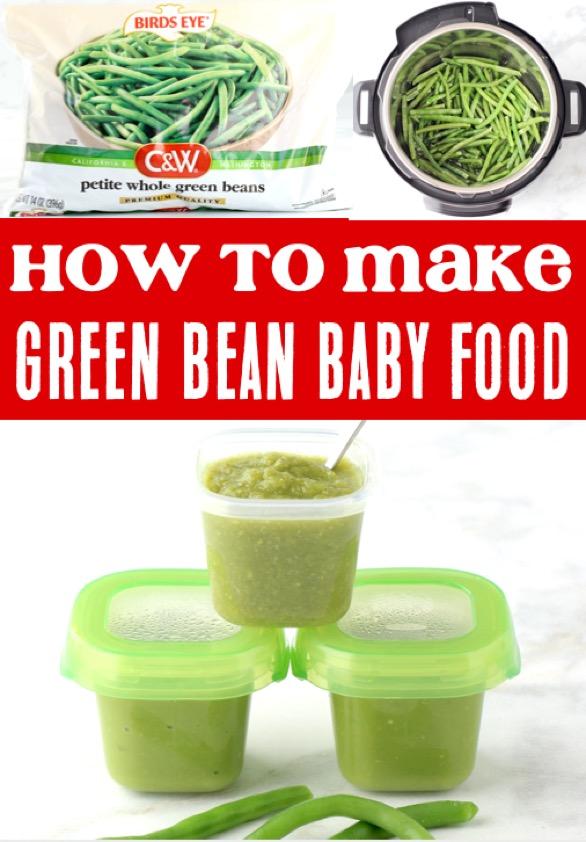 Baby Food Recipes Green Bean Recipe