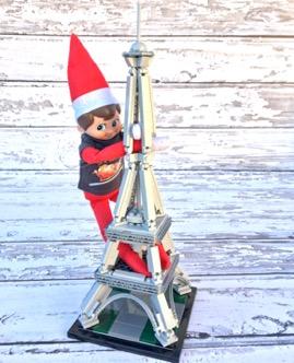 Elf on the Shelf Legos