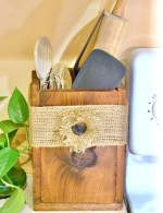 DIY Wooden Utensil Box