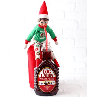 Elf on the Shelf Drinking Syrup small