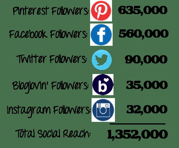 Social Media Following 22