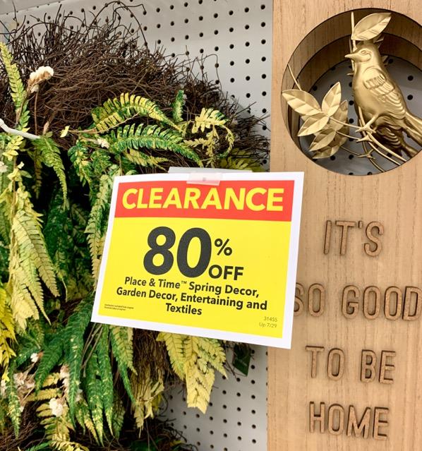 Joann Spring Decor Sale