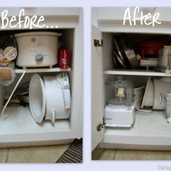 How To Arrange Pots And Pans In Kitchen Cabinets With Glass Doors Simplifykitchen Drawers Countertops