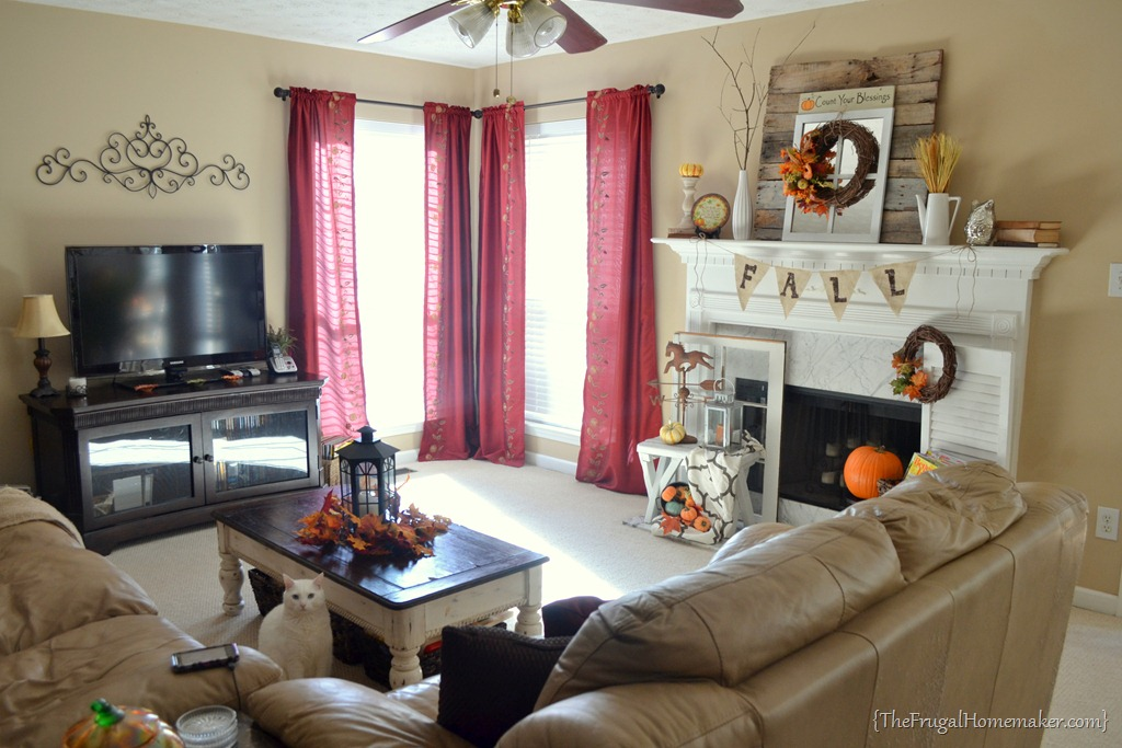 curtains for my living room window benches furniture diy painted striped yes i before red