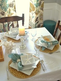 Beach-inspired tablescape with Better Homes and Gardens ...
