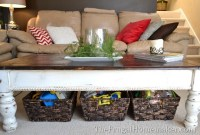 Baskets Under Coffee Table - Home Design Inside