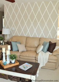 How to Paint a Diamond Accent Wall using ScotchBlue ...