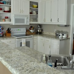 Inexpensive Kitchen Backsplash Bench Table How To Install A Diy Beadboard (kitchen Makeover)