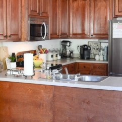 How Much To Replace Kitchen Cabinets Diy Cabinet Painted Makeover With Magnolia Paint