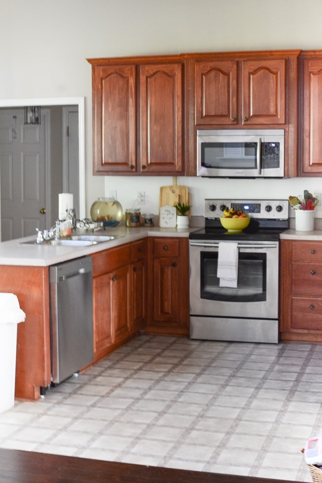 how much to replace kitchen cabinets metal table sets painted makeover with magnolia paint