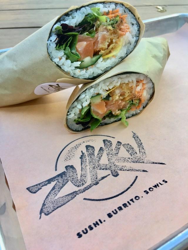 The Atlantic sushi burrito