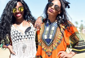 Black Women at Coachella