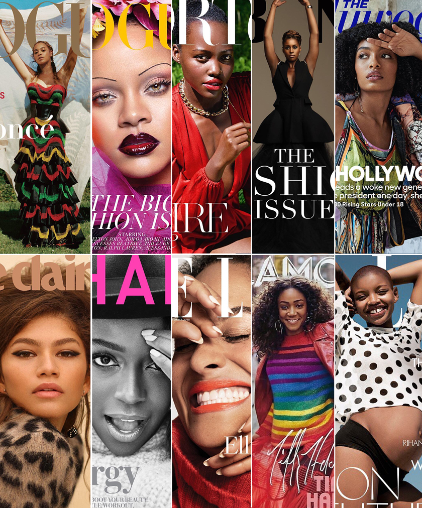 #BlackIsBeautiful: Black Women on the Cover of September Issues