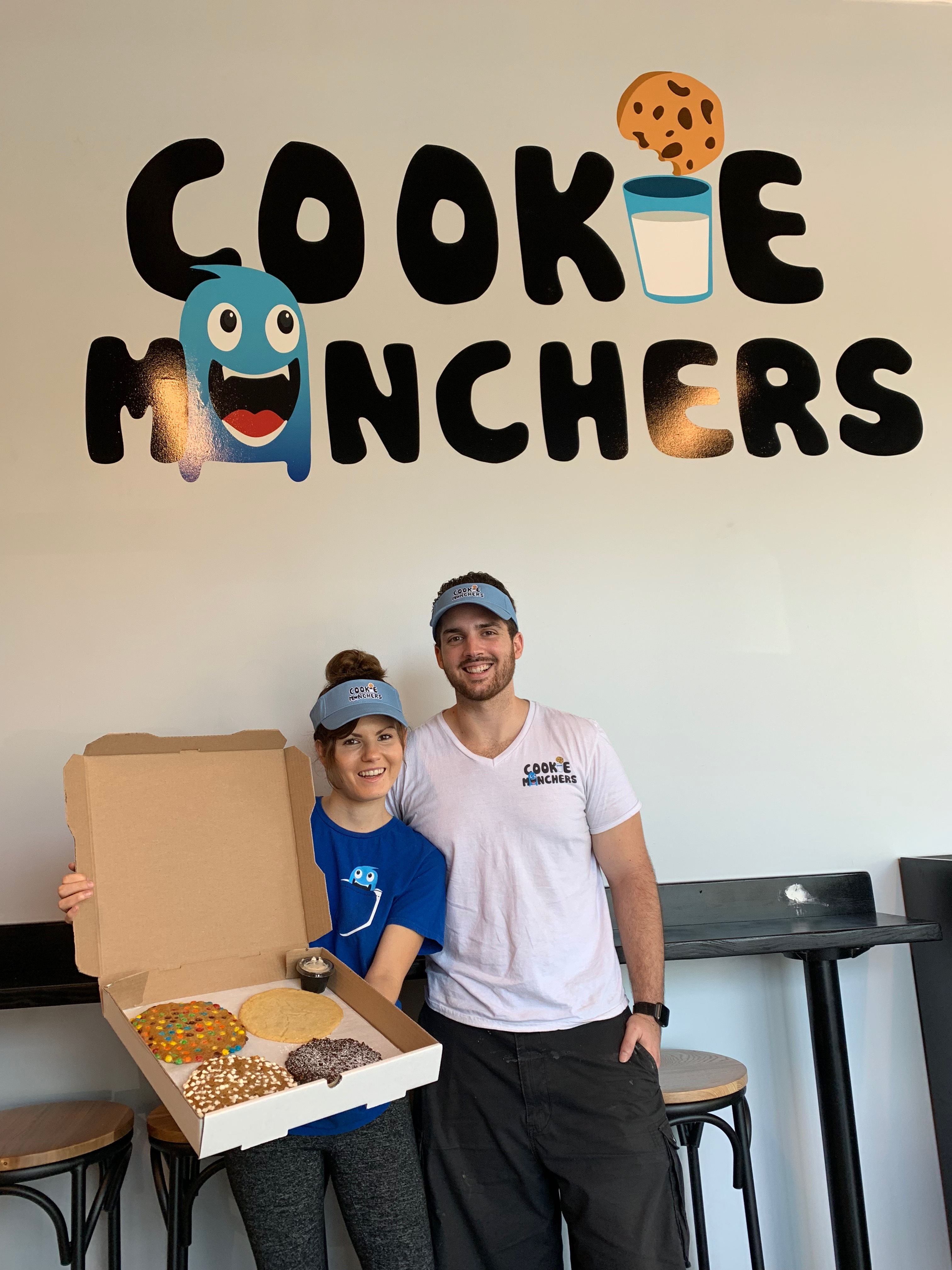 Cookie Munchers debuts larger-than-your-face cookies in Tampa