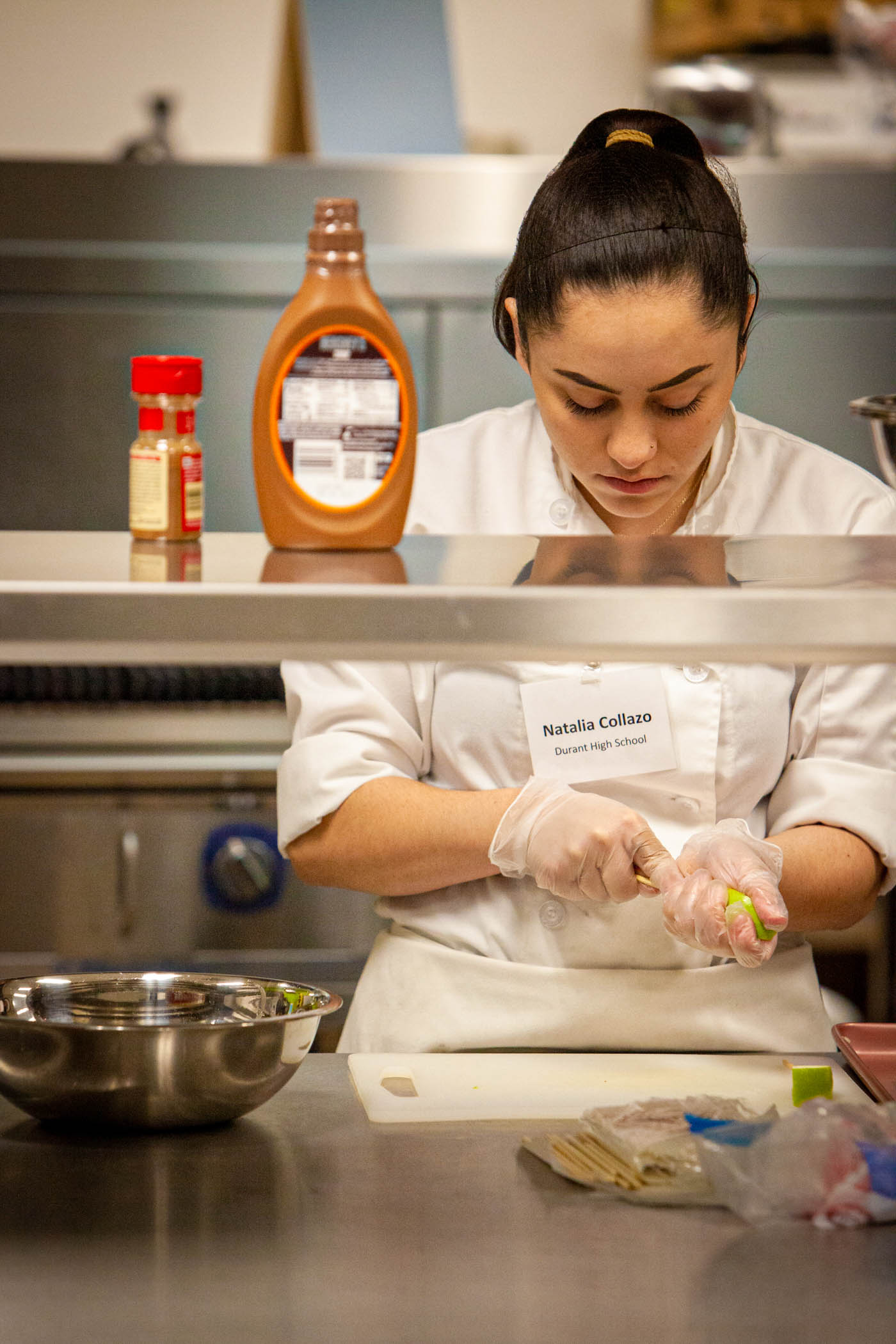 """""""Fair-Tastic Foods"""" competition puts high school culinary students to the test"""