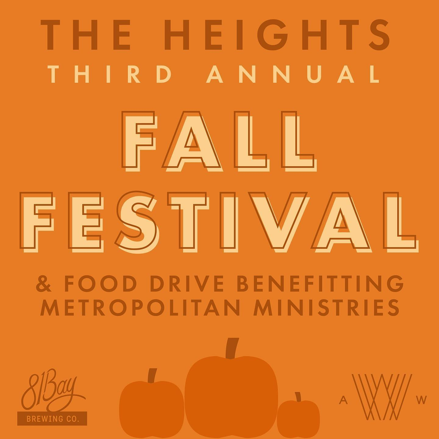 Third Annual Heights Fall Festival at Armature Works is this weekend