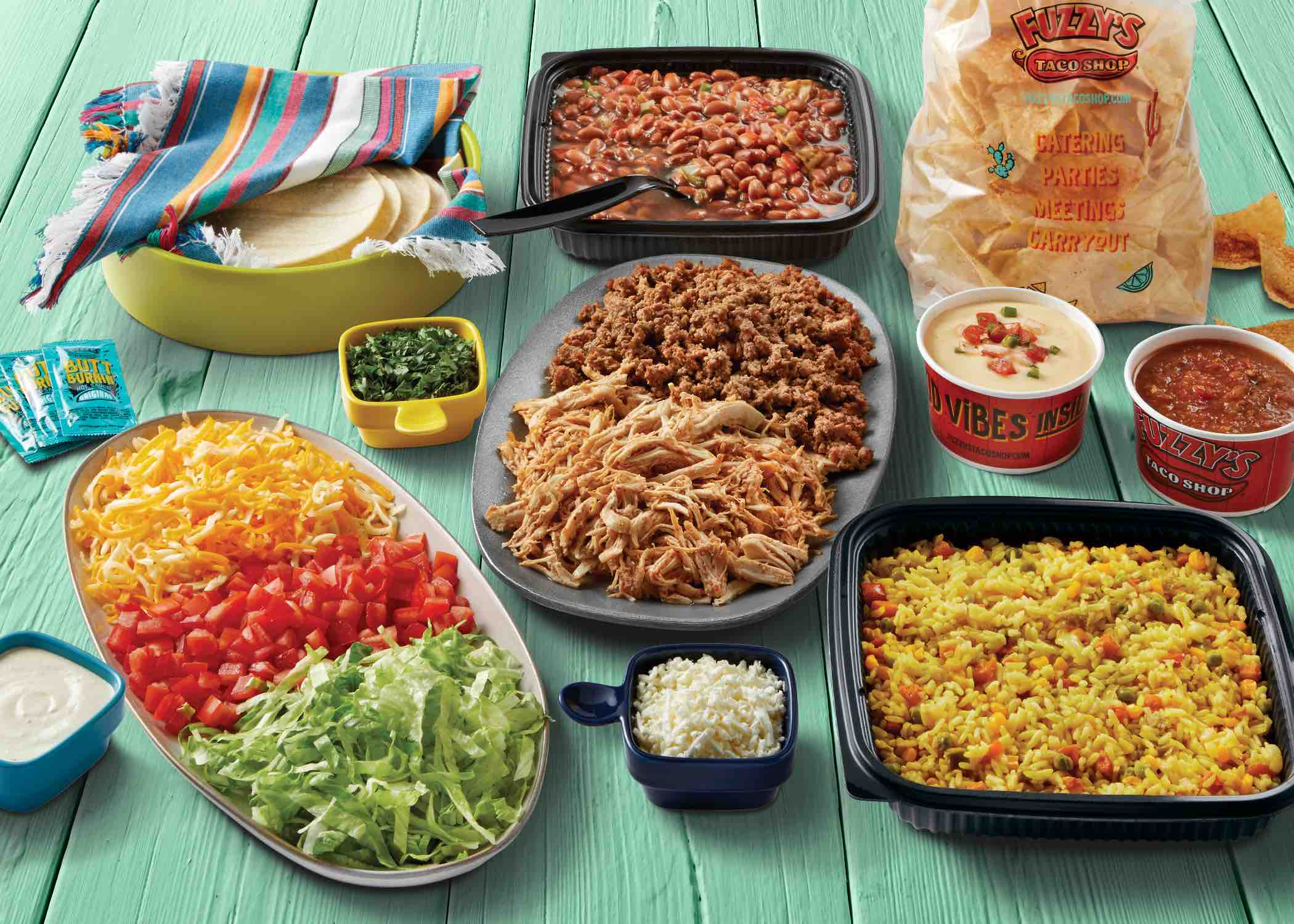 Fuzzy's Taco Shop releases Baja-inspired family meals for the holidays