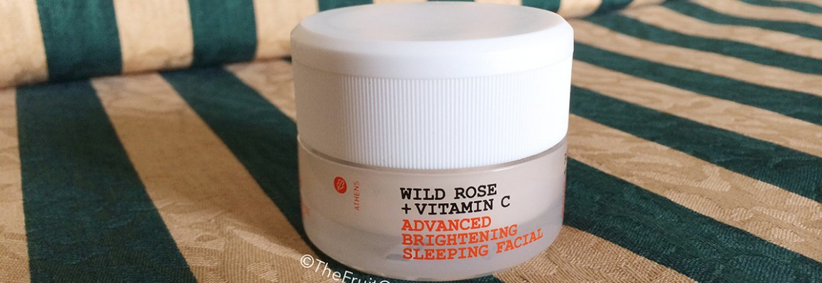 Feeling perky: KORRES Wild Rose + Vitamin C Sleeping Facial