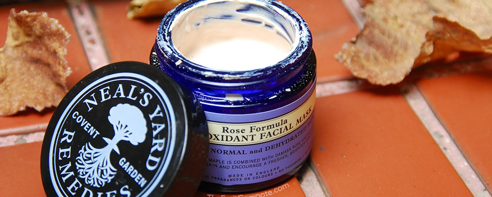 The Revitalizing Neal's Yard Rose Antioxidant Facial Mask