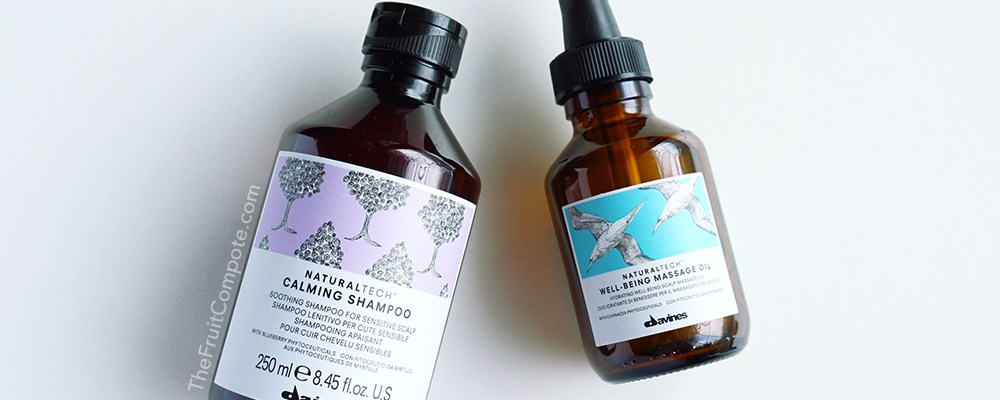 Adding Davines For The Benefit of My Scalp