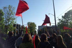 tuition protest Sabrina Nemis