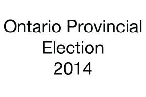 Ontario Election Student