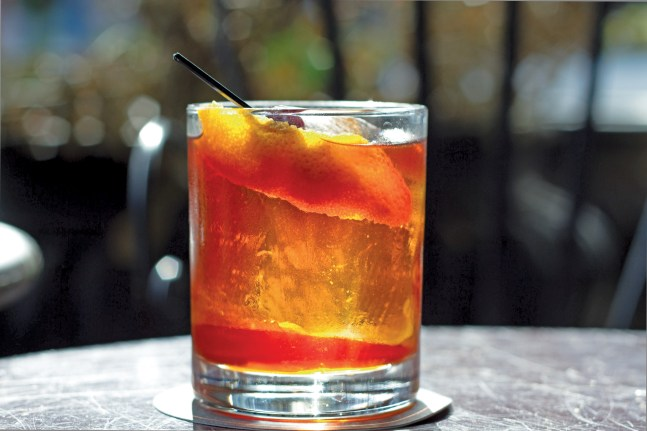 Autumn Old Fashioned. Photo: Jeff Wilcox