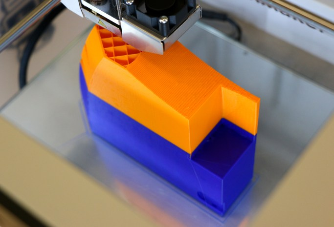 3D printing, Photo: Jaclyn McRae-Sadik