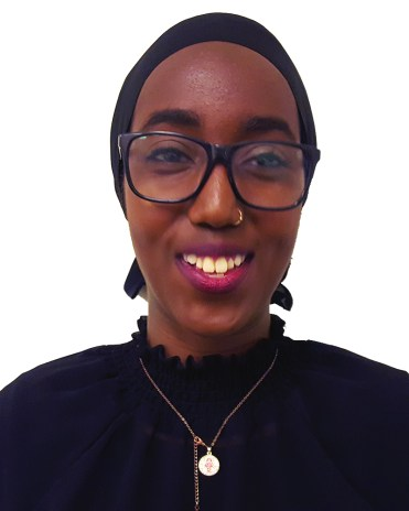 Faduma Wais, candidate, vice-president social. Photo: Anchal Sharma.