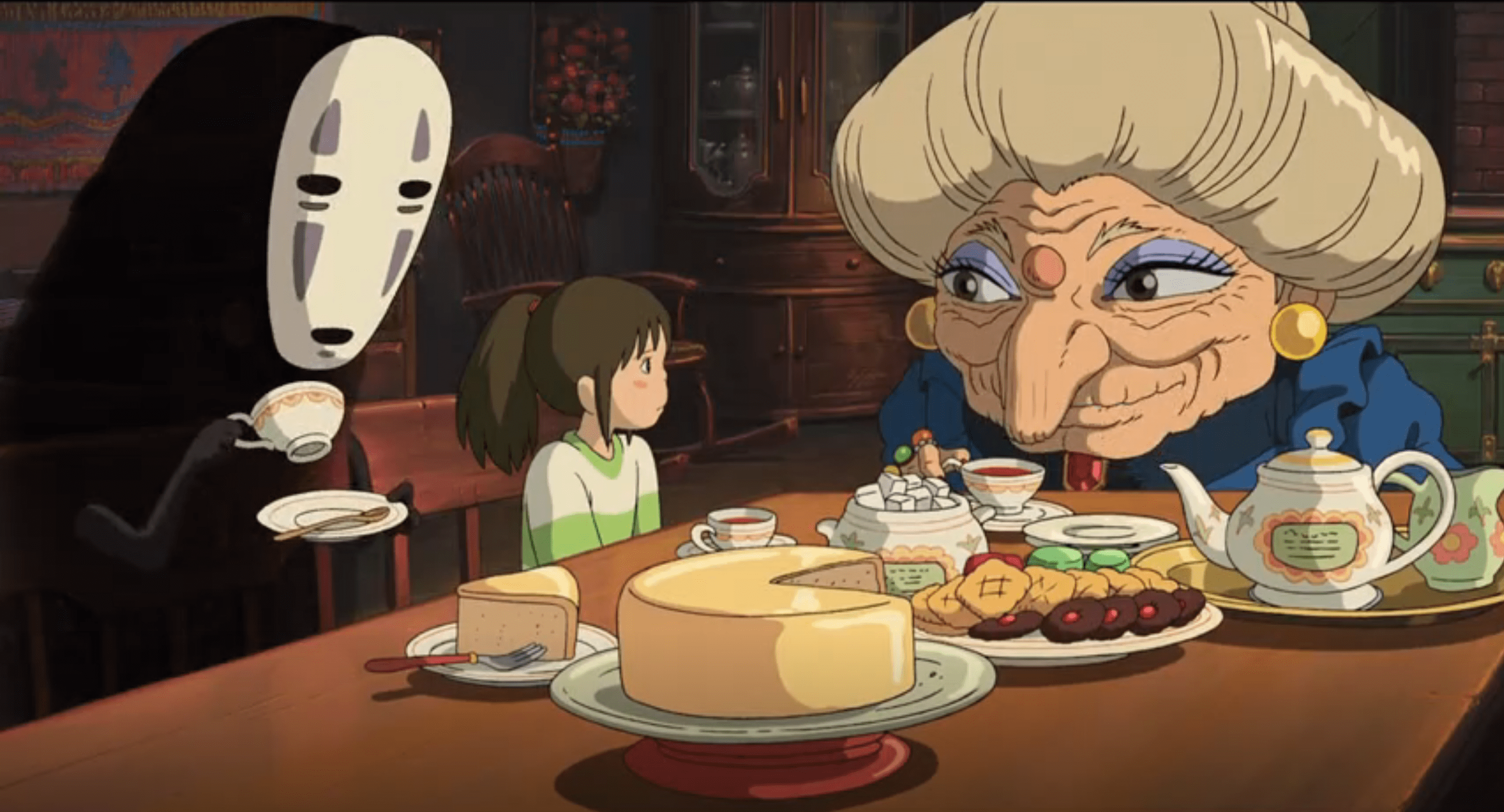 Foodie Movies You Should Have Seen Spirited Away 2001 The Fulcrum