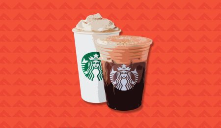 Starbucks pumpkin spice beverages