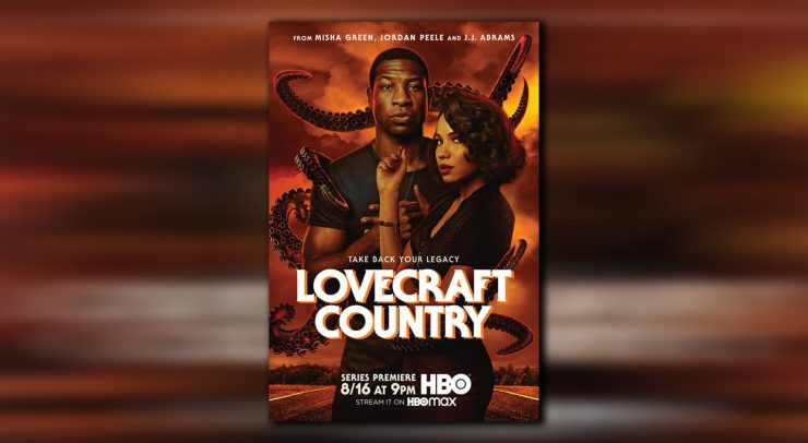 The promotional poster for Jordan Peele's Lovecraft Country