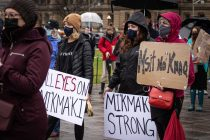 Protesters march on parliament hill