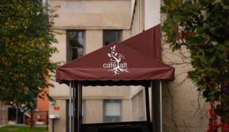 Outside of Cafe Alt