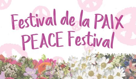 Peace week promotional material