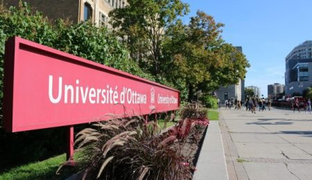 The uOttawa sign