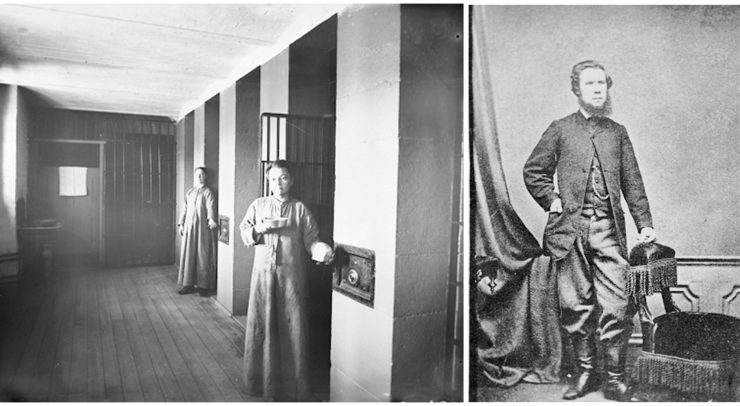 Pictures from the 1800's at the Carleton County Gaol