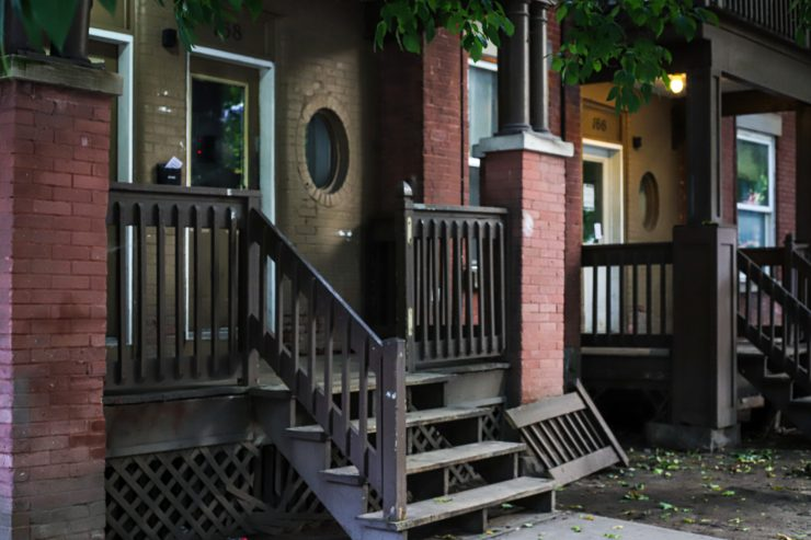 The property on Osgoode Avenue