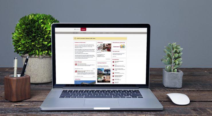 UoZone home page