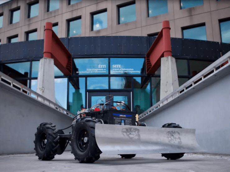 Automated Snowplow