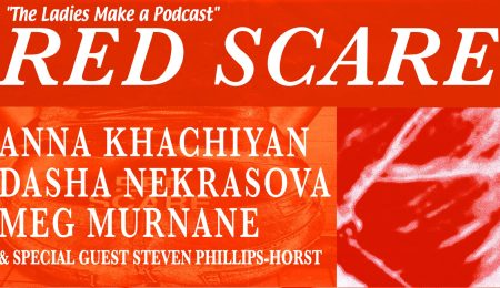 Red Scare Podcast Promotional Poster