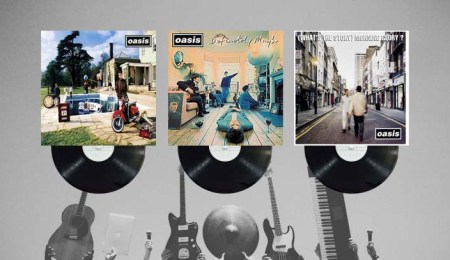 Oasis' first three records